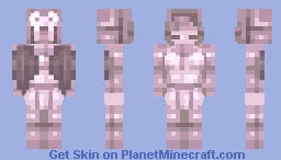 Forgotten Photographs of a Chaotic Spring - Bees Knees Spring Event Minecraft Skin