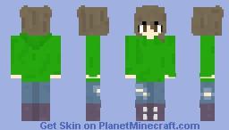 -~- Green Hoodie Girl -~-