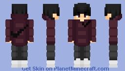 ○° purple nike hood °○ Minecraft Skin