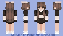 Suga pop (girl) Minecraft Skin