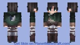 Eren Jaeger   Attack on Titan Minecraft Skin