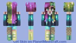 crossing field Minecraft Skin