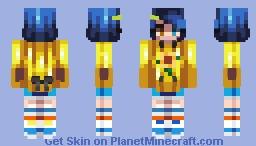 Ai Ohto - Wonder Egg Priority Minecraft Skin