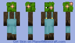 Flower Bush Guy! Minecraft Skin