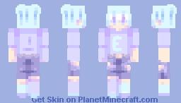 𝒷𝓁𝓊𝑒 // persona Minecraft Skin