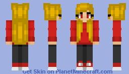 JustDash revamp Minecraft Skin