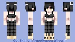 "❧ 𝙳𝚎𝚜𝚝𝚒𝚗𝚢 ❧ ""Hachi"" Pyjamas Minecraft Skin"