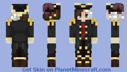 capitain puffy but as a boy Minecraft Skin