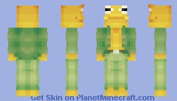 ~*Toad & Frog (toad)*~ COLLAB WITH @xBellaBearx Minecraft Skin