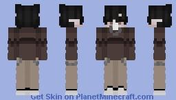 Brown Minecraft Skin