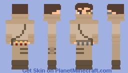 Post-War Apocalypse | Desert Wanderer Minecraft Skin