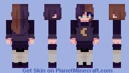Moon Girl ! Minecraft Skin