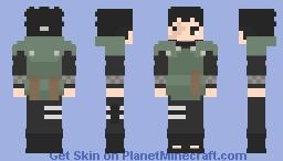 Shikamaru Nara [Mais Velho] [Jonin Sensei] [Boruto: Naruto Next Generations] [E se...?] [Versão #02] Minecraft Skin