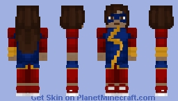 Ms. Marvel | MCU Minecraft Skin