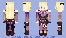Fischl | Genshin Impact Minecraft Skin