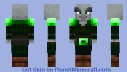 Pillager: Emerald reskin Minecraft Skin