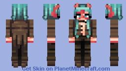 I wanna wear a tailcoat. Minecraft Skin