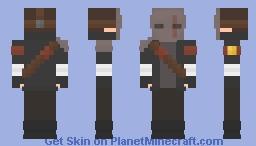 Post-War Apocalypse | Wasteland Marauder Minecraft Skin