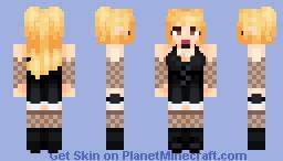 Misa Amane - Death Note Minecraft Skin