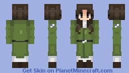 pieck finger | attack on titan Minecraft Skin