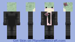 sophisticated frog Minecraft Skin