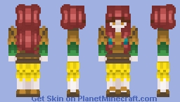 Island Villager Minecraft Skin