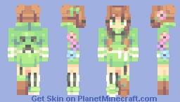 creeper - ce Minecraft Skin