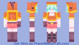 Copper adventurer Minecraft Skin