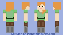 Alex (Plastic) Minecraft Skin