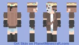 New D&D OC! Minecraft Skin