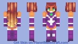 Starfire Minecraft Skin