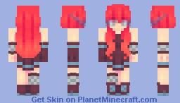prom + fawne = prawn Minecraft Skin