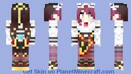 Rosaria (Genshin Impact) Minecraft Skin