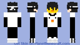 s..SAPNAP? no, DREAM??? wait, DUCKCAKE?! AM I SEEING THINGS?! Minecraft Skin