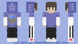 MLG Water clutch sweat skin Minecraft Skin