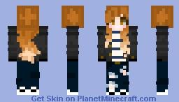 Layla (3px skin) Minecraft Skin