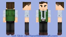 Perry White   DC Comics Minecraft Skin
