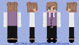 Boy in pink suit Minecraft Skin
