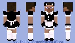 steve wearing a black dress :D Minecraft Skin