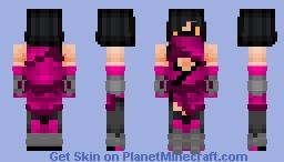 Mileena (Mortal Kombat) Minecraft Skin