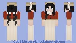 [X] Red Ruthern Minecraft Skin