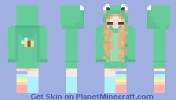 frog hoodie Minecraft Skin