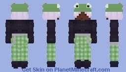 FROGGY HAT Minecraft Skin