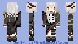Talulah - Arknights Minecraft Skin