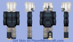 -Ghost Boy- RQ Minecraft Skin