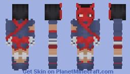 Mara Al Ghul - Demon's Thumb : Masked Minecraft Skin