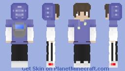 Draw string version of MLG water clutch skin Minecraft Skin