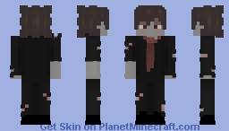 Tux Suit Zombie Minecraft Skin