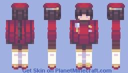 ➵ violet ○ conidae oc Minecraft Skin