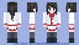 Ayano Aishi (Student Council) Minecraft Skin